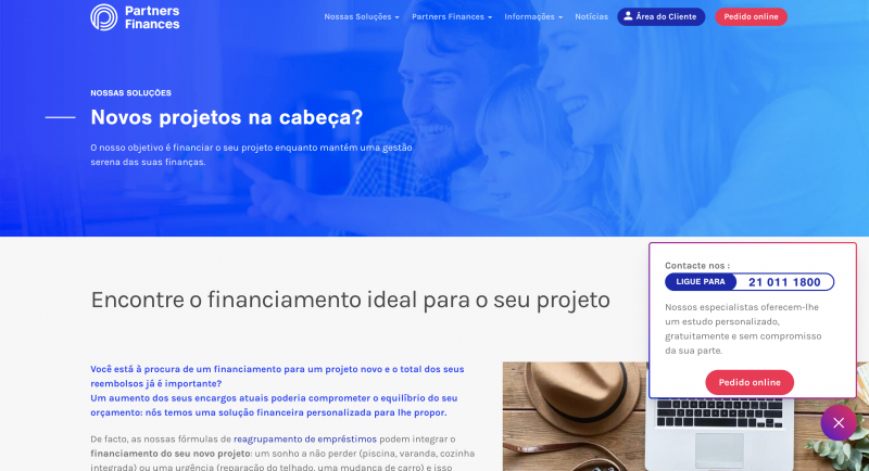 Partners Finances – O crédito consolidado